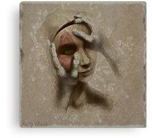 Silent eye Canvas Print