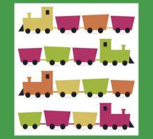 Cute colorful vehicles set Cartoon Baby Tee