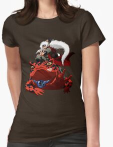 Master of Frog Womens Fitted T-Shirt