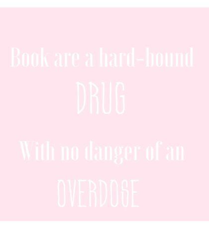 Books are drugs Sticker