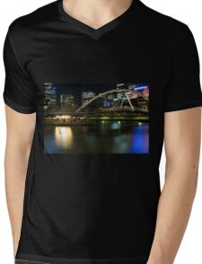 Ponyfish Island Evenings - Melbourne Australia Mens V-Neck T-Shirt