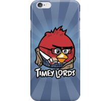 Timey Lords - The Tenth iPhone Case/Skin