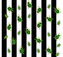 Beetlejuice Pattern in Bugs Photographic Print