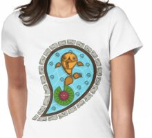 Scales the Goldfish Womens Fitted T-Shirt