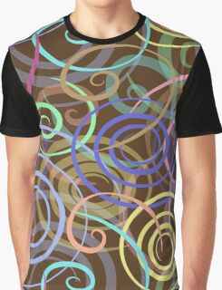 seamless pattern with colored ribbons Graphic T-Shirt