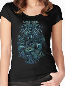 Ghost in the Shell by remi42 Women's Fitted Scoop T-Shirt