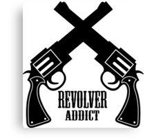 Gun Revolver Canvas Print