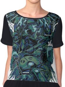 Ghost in the Shell by remi42 Chiffon Top