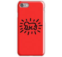 "Baby Pop Art "" Keith Haring"" iPhone Case/Skin"