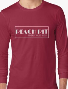 Peach Pit - Beverly Hills 90210 Long Sleeve T-Shirt