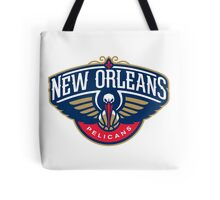 New Orleans Pelicans Tote Bag