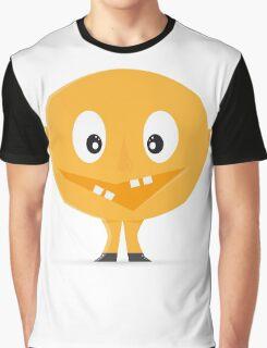 Yellow Mascot  Graphic T-Shirt