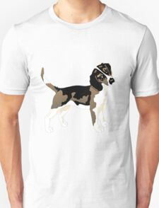 Brown beagle  T-Shirt
