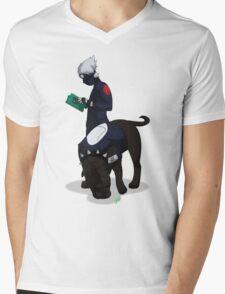 Kuciyose Mens V-Neck T-Shirt
