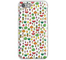 fruits & vegetables iPhone Case/Skin
