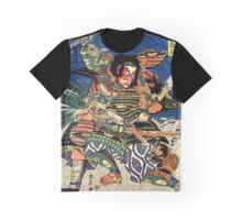 Two Samurai warriors in close combat Graphic T-Shirt