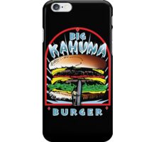 Big KAHUNA Burger - Reverse Dark Variant iPhone Case/Skin