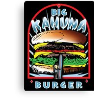 Big KAHUNA Burger - Reverse Dark Variant Canvas Print