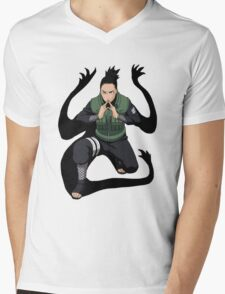 Shikamaru Mens V-Neck T-Shirt
