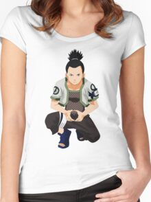 Shikamaru Women's Fitted Scoop T-Shirt