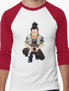 Shikamaru Men's Baseball ¾ T-Shirt