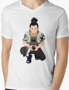 Shikamaru Mens V-Neck T-Shirt