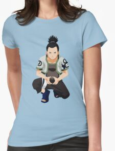 Shikamaru Womens Fitted T-Shirt