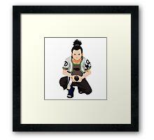 Shikamaru Framed Print