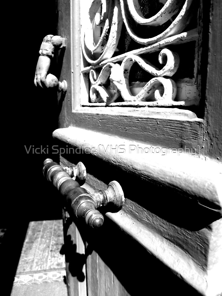 Through an open door into darkness by Vicki Spindler (VHS Photography)