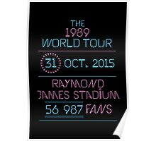 31st October - Raymond James Stadium Poster