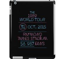 31st October - Raymond James Stadium iPad Case/Skin