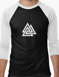 Valknut Men's Baseball ¾ T-Shirt