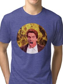 Angry Arnold Tri-blend T-Shirt