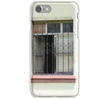 Window With Steel Shutters iPhone Case/Skin