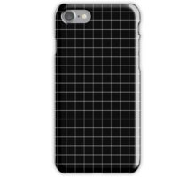 BLACK GRID PHONE CASE iPhone Case/Skin