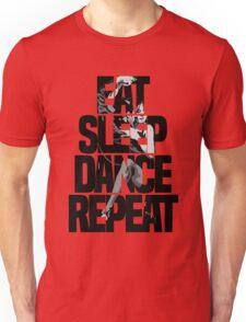 Dance - Eat sleep dance repeat Unisex T-Shirt