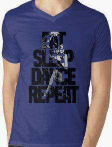 Dance - Eat sleep dance repeat Mens V-Neck T-Shirt