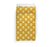 Cowboy Yellow Octopus Pattern Duvet Cover