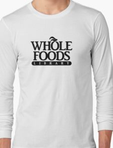 I believe this ams called a foods library Long Sleeve T-Shirt