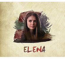 Elena - The Vampire Diaries Photographic Print