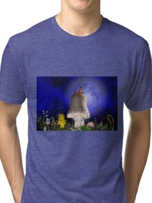 Once in a blue moon Tri-blend T-Shirt
