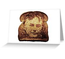 Richard Dawkins Toast (mug) Greeting Card