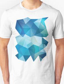 Abstract Geometric Polygon Sea Unisex T-Shirt
