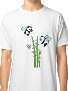 Flying pandas Classic T-Shirt