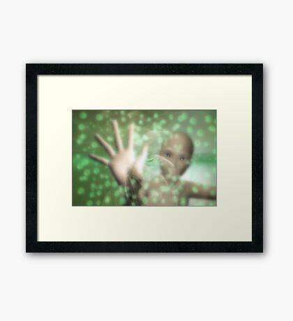 Sensations Framed Print