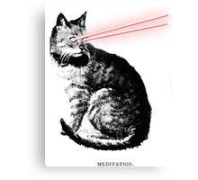 Laser Cat Canvas Print