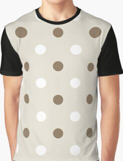 Dotted pattern or background ( brown ) Graphic T-Shirt