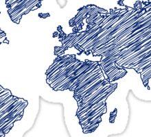 World Sketch Sticker