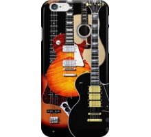 Four guitars phone cases iPhone Case/Skin