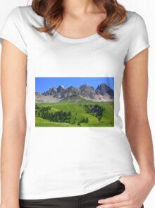 San Pellegrino Pass Women's Fitted Scoop T-Shirt